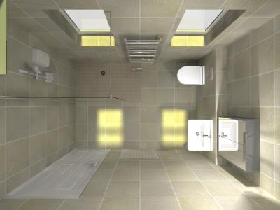 Wetroom design process