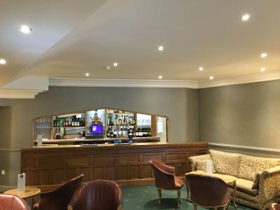 Bar AFTER refurbishment